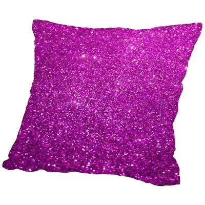 Glamour Throw Pillow Size: 16 H x 16 W x 2 D