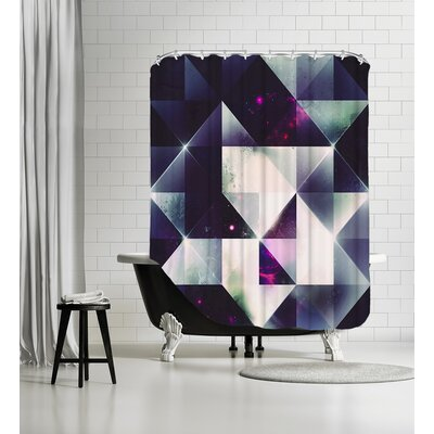 Cylm Pywyr Shower Curtain