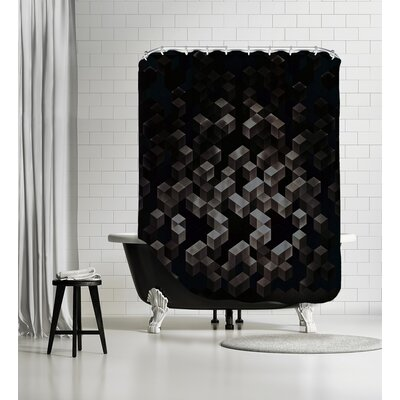 Cwwb Dyn Gyn Shower Curtain