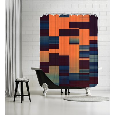 Glytch Hyryzyn Shower Curtain