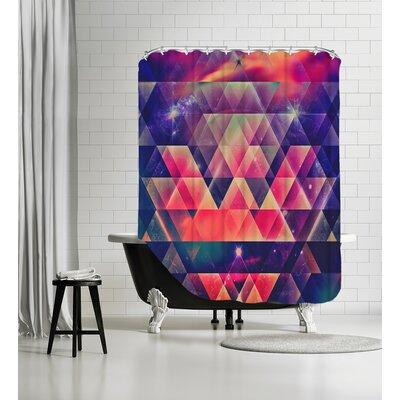 Glyssyne Pyrymyd Shower Curtain