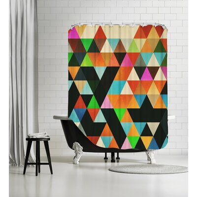Ryylld Pyg Shower Curtain