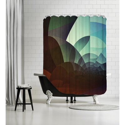 Spyyryl Yyt Shower Curtain