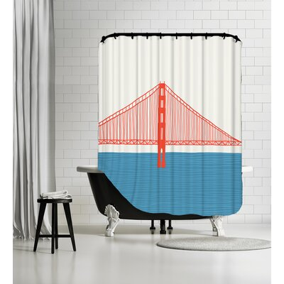 Gg Bridge 3 Shower Curtain