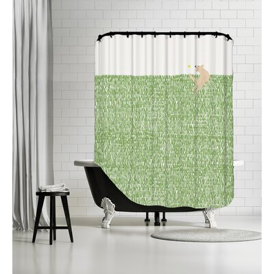 Retriever Shower Curtain