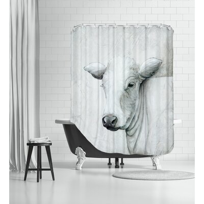 January Cow II Shower Curtain