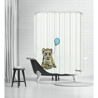 Nursery Lion Shower Curtain