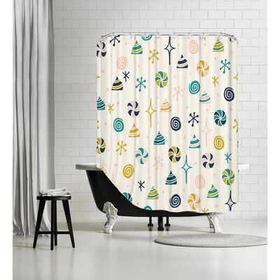 Angelic 3 Shower Curtain