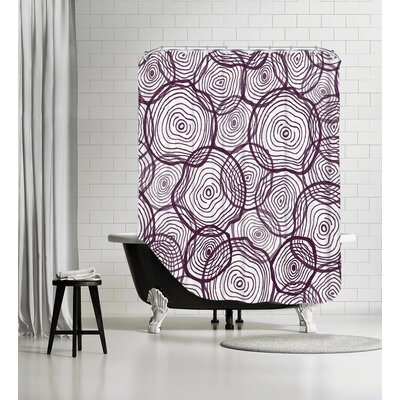 Mark It Up Shower Curtain