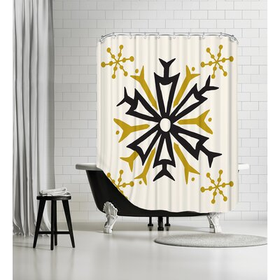 Mod Holiday 3 Shower Curtain