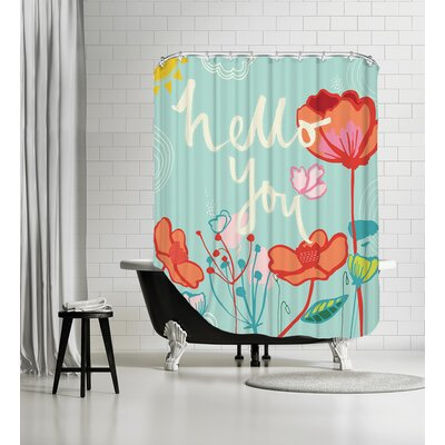 Hello You Shower Curtain