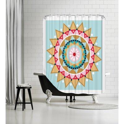 Christmas Star Shower Curtain
