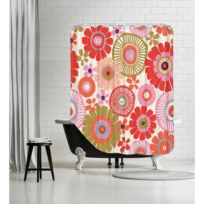Flower Child1 Shower Curtain