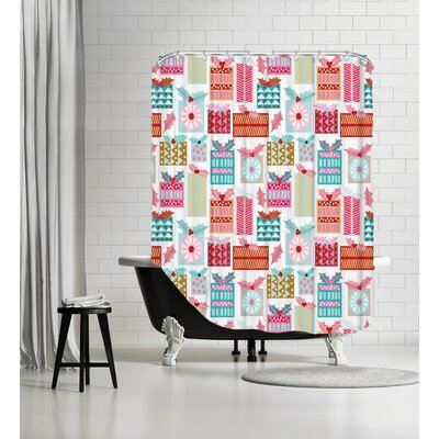 Christmas Presents Shower Curtain