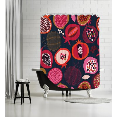 Pomegranates 1 Shower Curtain