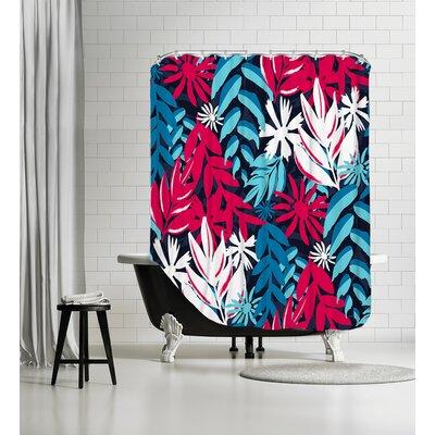 Havana Tropics Shower Curtain
