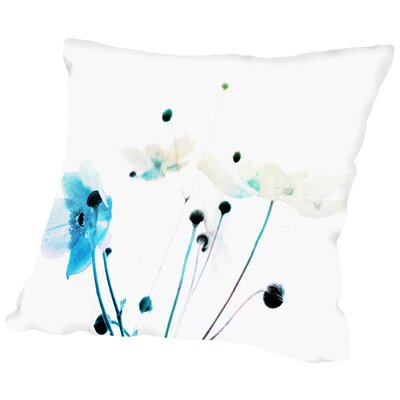 Lost Flowers Throw Pillow Size: 16 H x 16 W x 2 D