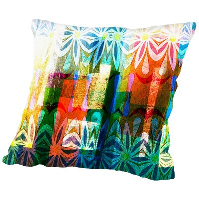 16B04 Blend Throw Pillow Size: 18 H x 18 W x 2 D