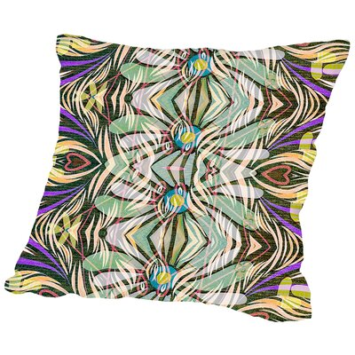 16B10 Blend Throw Pillow Size: 14 H x 14 W x 2 D