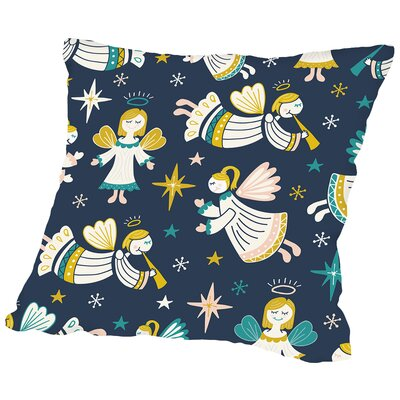 Angelic 2 Throw Pillow Size: 16 H x 16 W x 2 D