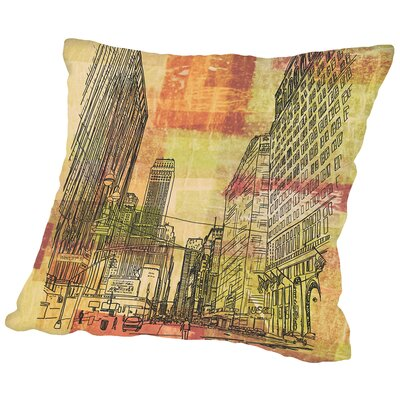 16B13 NYC Blend Throw Pillow Size: 14 H x 14 W x 2 D