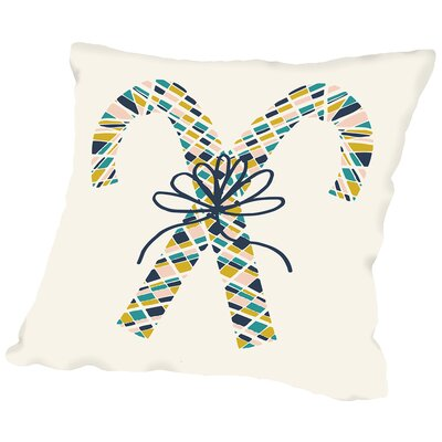 Angelic 5 Throw Pillow Size: 18 H x 18 W x 2 D