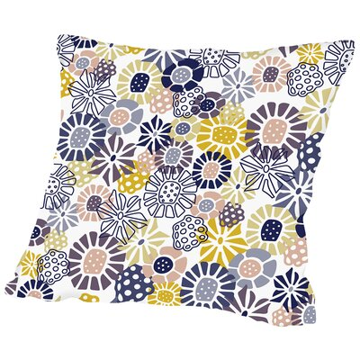 Lively Florals Throw Pillow Size: 20 H x 20 W x 2 D