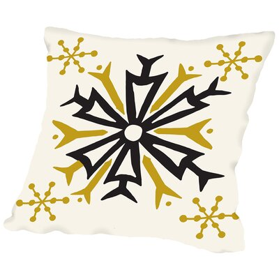Mod Holiday 3 Throw Pillow Size: 16 H x 16 W x 2 D