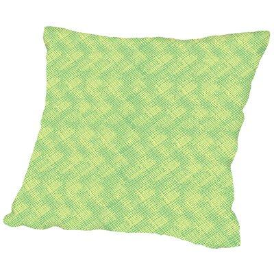 Criss Cross Throw Pillow Size: 18 H x 18 W x 2 D