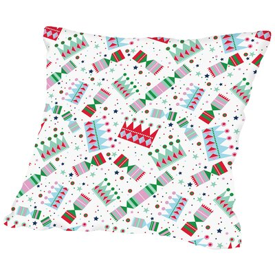 Cracker Pop Throw Pillow Color: White, Size: 20 H x 20 W x 2 D