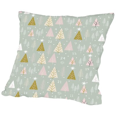 Advent Throw Pillow Size: 16 H x 16 W x 2 D