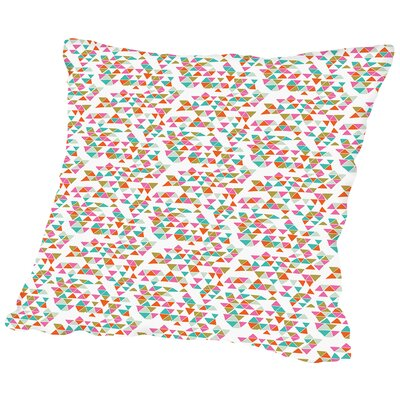 Geo1 Throw Pillow Size: 14 H x 14 W x 2 D