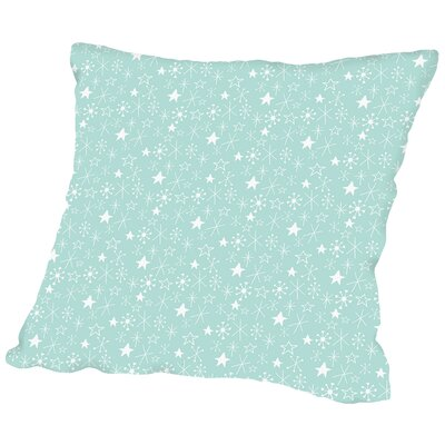 Stars Throw Pillow Size: 20 H x 20 W x 2 D