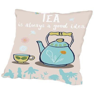 Good Idea Throw Pillow Size: 20 H x 20 W x 2 D
