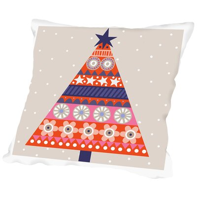 Christmas Tree Alt Throw Pillow Size: 14 H x 14 W x 2 D
