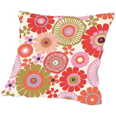 Flower Child1 Throw Pillow Size: 18 H x 18 W x 2 D