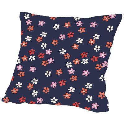 Flower Child3 Throw Pillow Size: 20 H x 20 W x 2 D