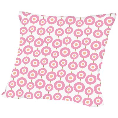 Flower Child5 Throw Pillow Size: 16 H x 16 W x 2 D