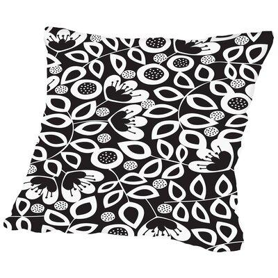 Hazy Mono Throw Pillow Size: 18 H x 18 W x 2 D