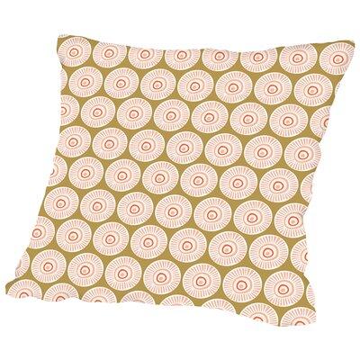 Flower Child4 Throw Pillow Size: 14 H x 14 W x 2 D