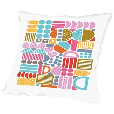 Jigsaw Throw Pillow Size: 16 H x 16 W x 2 D