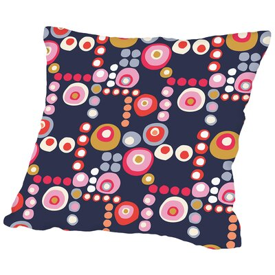 Mod Circles Throw Pillow Size: 18 H x 18 W x 2 D