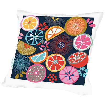Oranges Throw Pillow Size: 20 H x 20 W x 2 D
