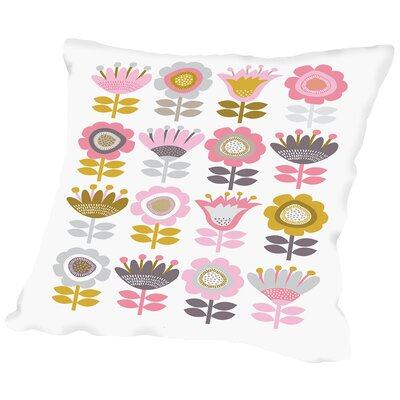 Sweet Sunday 02 Throw Pillow Size: 18 H x 18 W x 2 D