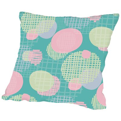Planets Throw Pillow Size: 16 H x 16 W x 2 D, Color: Pastel