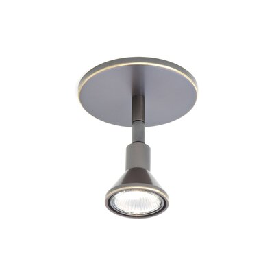 1-Light Round Canopy Direct Connect Spot Light Finish: Hand Brushed Old Bronze