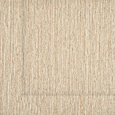 Klein Hand-Woven Wool Sand Area Rug Size: Rectangle 9 x 12