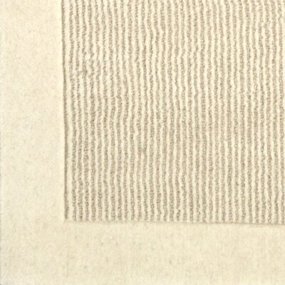 Kleinschmidt Hand-Woven Wool Oatmeal Area Rug Size: Rectangle 8 x 10