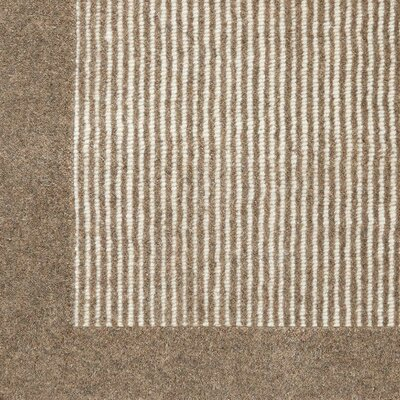 Kleinschmidt Hand-Woven Wool Brown Area Rug Size: Rectangle 6 x 9
