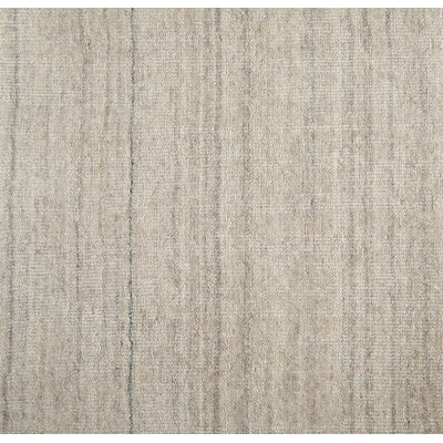 Cumberland Hand-Woven Wool Platinum Area Rug Size: Rectangle 6 x 9